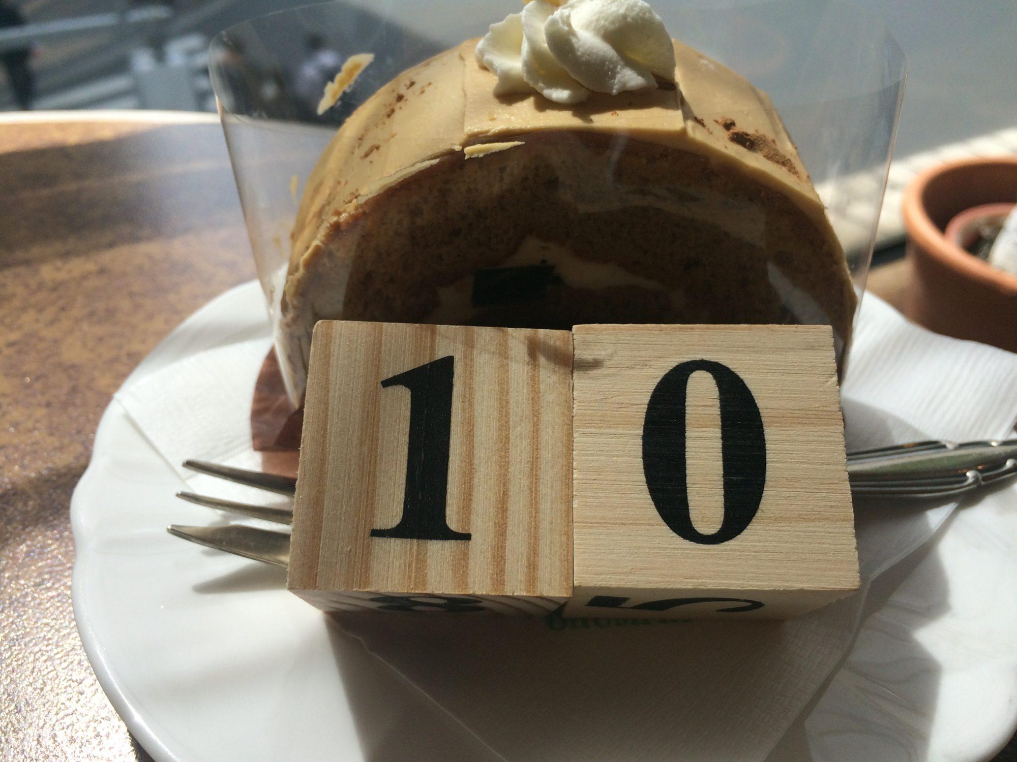 10回ケーキ
