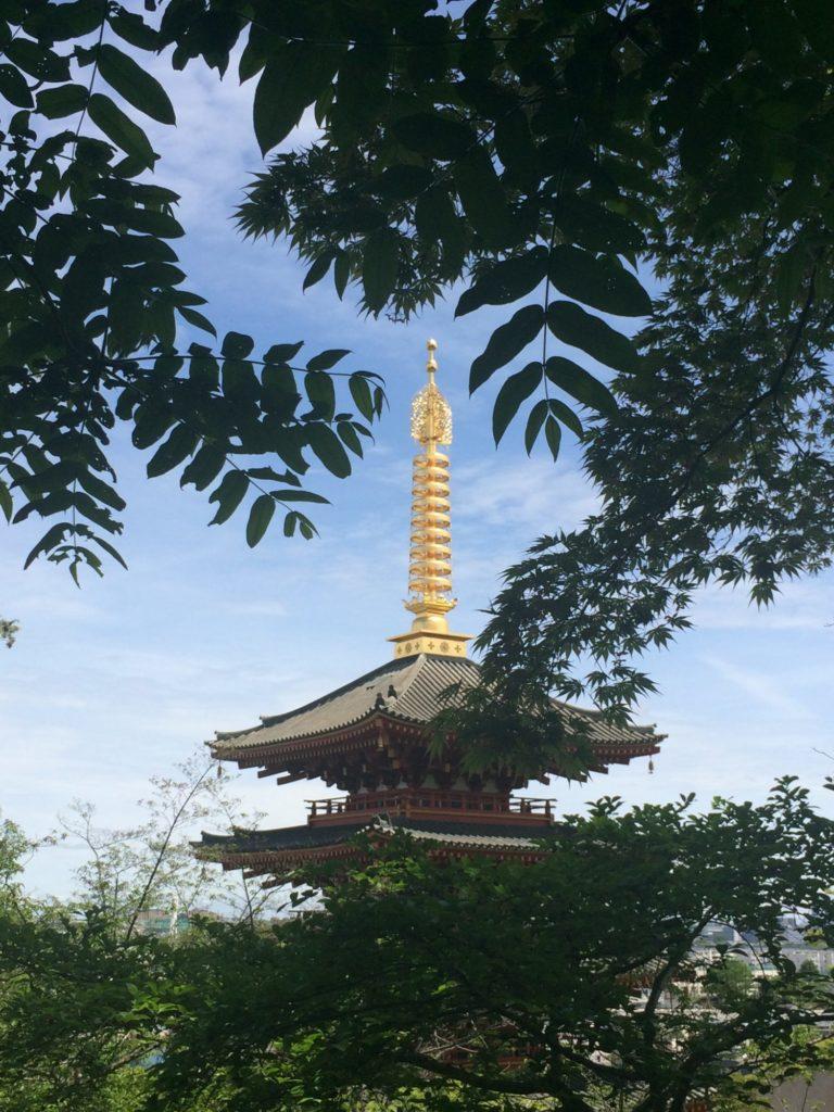 高幡不動尊の塔