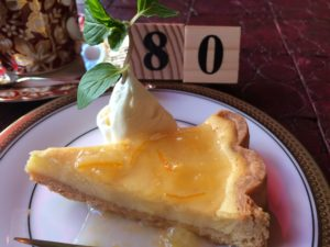 レモンチーズケーキ