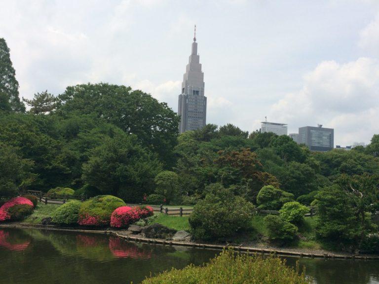 新宿御苑塔