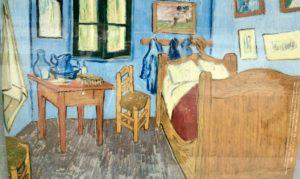 松方コレクション寝室