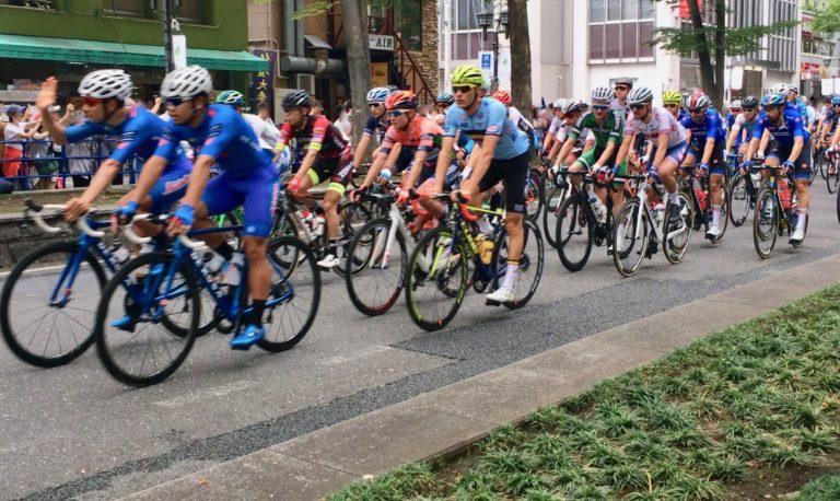 自転車ロードテストイベント