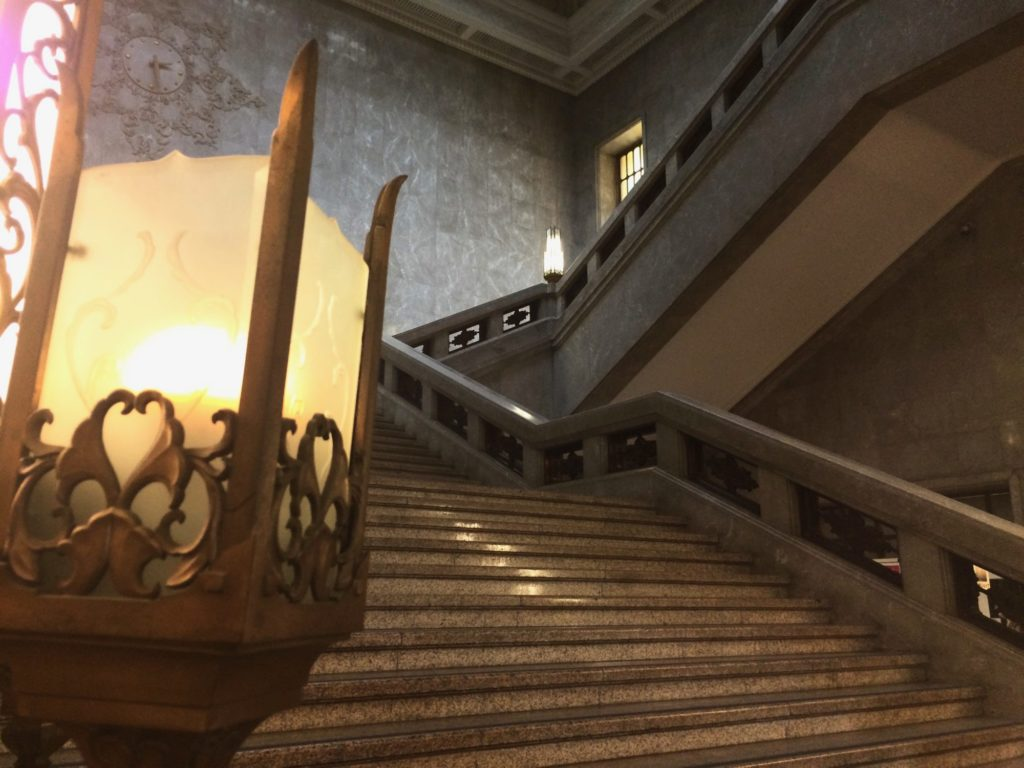 博物館階段