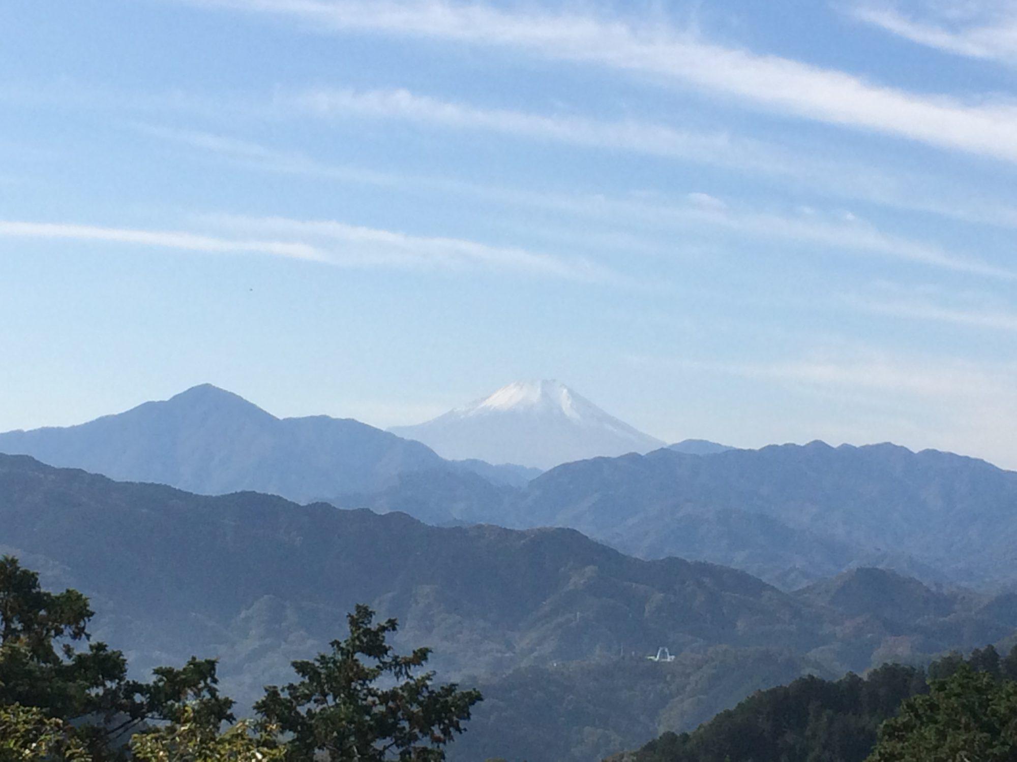 もみじ台富士山
