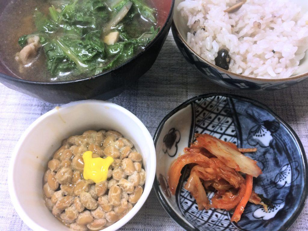 キムチ納豆0317